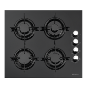 Luxell Lx 40 Tahdf Ankastre Cam Ocak Siyah Lpg