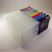 Epson 9880 9800 7880 7800 Uyumlu Kolay Dolan Kartuş 8 Renk