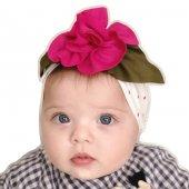 Babygiz Çiçek Aksesuarlı Bandana Nba035