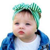 Babygiz Bağlamalı Bandana Nba083