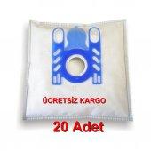 Arçelik S4120-4122-4124 Kanguru Bez Torba 20 Adet