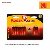 Kodak Max Alkalin İnce Pil 6+2 Hediyeli Paket