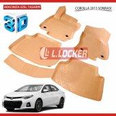 Toyota Corolla 2013 2018 L.locker 3d Paspas Takımı...