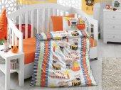Cotton Box Hazine Oranj Bebek Nevresim Takımı