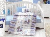 Cotton Box Midilli Mavi Bebek Nevresim Takımı