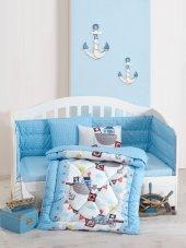 Cotton Box Gemici Mavi Bebek Uyku Seti