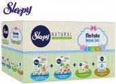 Sleepy Merhaba Bebek Seti Yeni Doğan Doğuma Hazırlık Paketi Naturel Bebek Bezi