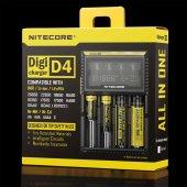 NITECORE D4 PIL DOLUM KITI (DIGICHARGER)-5