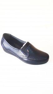 %100 Hakiki Deri Ortopedik Bayan Ayakkabı