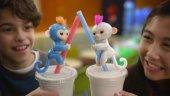 Happy Fingerlings Monkey Konuşan Bebek Maymun 4 Renk-2
