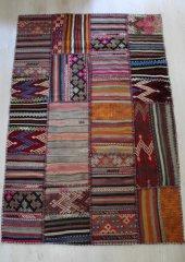 Patchwork El Dokuma Kilim 119 x 179-2
