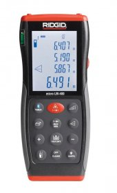 Ridgid 36813 Micro Lm 400 Gelişmiş Lazer Metre 70 Metre (Android Ve İos Uyumlu)