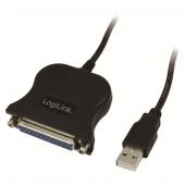 Logilink Ua0054a Usb Paralel Dönüştürücü Kablo, D Sub 25pin