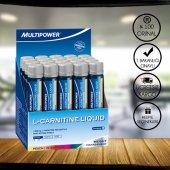 Multipower L-Carnitine Liquid Forte 20 Shot Şeftali Aromalı + 3 Hediyeli