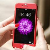 iPhone 8 360 Derece Kılıf Full Koruma + Kırılmaz Camlı
