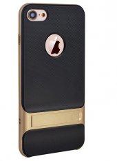 İPhone 8 Plus Gold Stantlı Kılıf-3