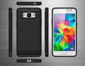 Galaxy J5 2016 Silikon Karbon Fiber Kılıf