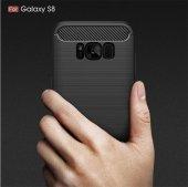 Galaxy S8 Plus Silikon Karbon Fiber Kılıf