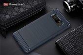 Galaxy Note 8 Silikon Karbon Fiber Kılıf