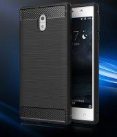 Nokia 6 Silikon Karbon Fiber Kılıf-7