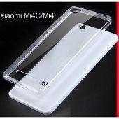 Xiaomi Redmi 3S Şeffaf İnce Kılıf + Ekran Koruyucu Cam-4