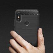Xiaomi Mi 8 Silikon Karbon Fiber Kılıf