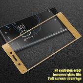 Sony Xperia XZ Ekranı Tam Kaplayan Cam Ekran Koruyucu-4