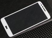 LG Stylus 3 Ekranı Tam Kaplayan Cam Ekran Koruyucu-5