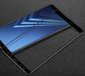 Galaxy A8 Plus 2018 Ekranı Tam Kaplayan Cam Koruyucu