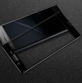 Sony Xperia XZ1 Ekranı Tam Kaplayan Cam Koruyucu-2