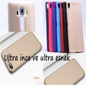 İphone 4 Kaliteli Soft Silikon Kılıf Gold