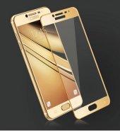 Galaxy C5 Pro Ekranı Tam Kaplayan Cam Koruyucu-3