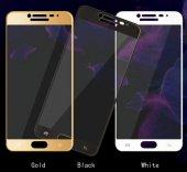 Galaxy C5 Pro Ekranı Tam Kaplayan Cam Koruyucu-4