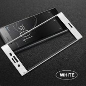 Sony Xperia XZ1 Ekranı Tam Kaplayan Cam Koruyucu-3