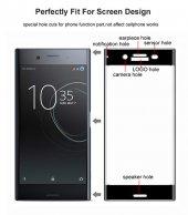 Sony Xperia XZ1 Ekranı Tam Kaplayan Cam Koruyucu-5