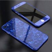 İPhone 6 7 8 S Plus Kaliteli Mermer Desenli 360 Tam Koruma Kılıf-2