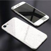 İPhone 6 7 8 S Plus Kaliteli Mermer Desenli 360 Tam Koruma Kılıf-4