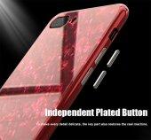 İPhone 6 7 8 S Plus Kaliteli Mermer Desenli 360 Tam Koruma Kılıf-6