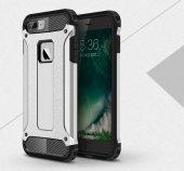 Apple iphone 8 Plus Silikon Hybrid Zırh Kılıf-3