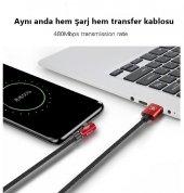 ORJİNAL BASEUS TYPE-C UZUN 2 METRE HIZLI USB DATA ŞARJ KABLOSU