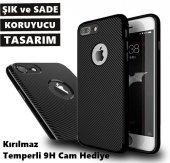 iPhone 6 / 6S - iPhone 7 FiberPlus Kılıf + 1 ADET Kırılmaz Cam