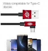 ORJİNAL BASEUS TYPE-C UZUN 2 METRE HIZLI USB DATA ŞARJ KABLOSU-5