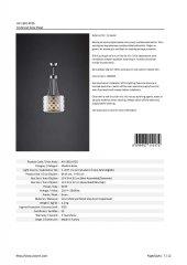 AVONNI AV-1381-KY25 Krom Kaplama Klasik Avize-3