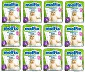 Molfix Bebek Bakım Alt Açma Örtüsü 12 Li Set...