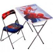 Ahşap Örümcek Adam Temalı Erkek Çocuk Ders Çalışma...