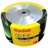 Kodak Cd R 700mb 80mın 52x 50li Shrink