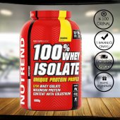 Nutrend Whey Isolate (izole) Protein Tozu 1800 Gr + 2 Hediye
