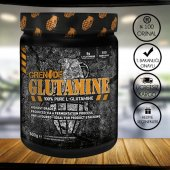 Grenade Glutamine %100 Pure L-Glutamine 500 Gr + 2 Hediye