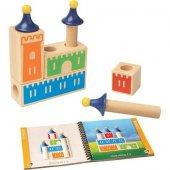 SmartGames - Casile Logix Okul Öncesi Puzzle Oyunu-2