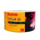Kodak Dvd+r 4.7gb 120mın 16x 50li Paket Shrink
